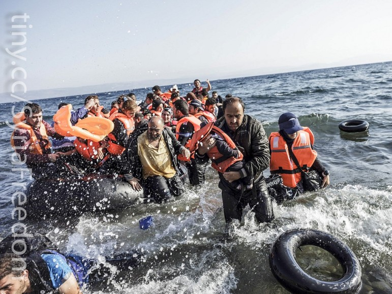 Refugees-water