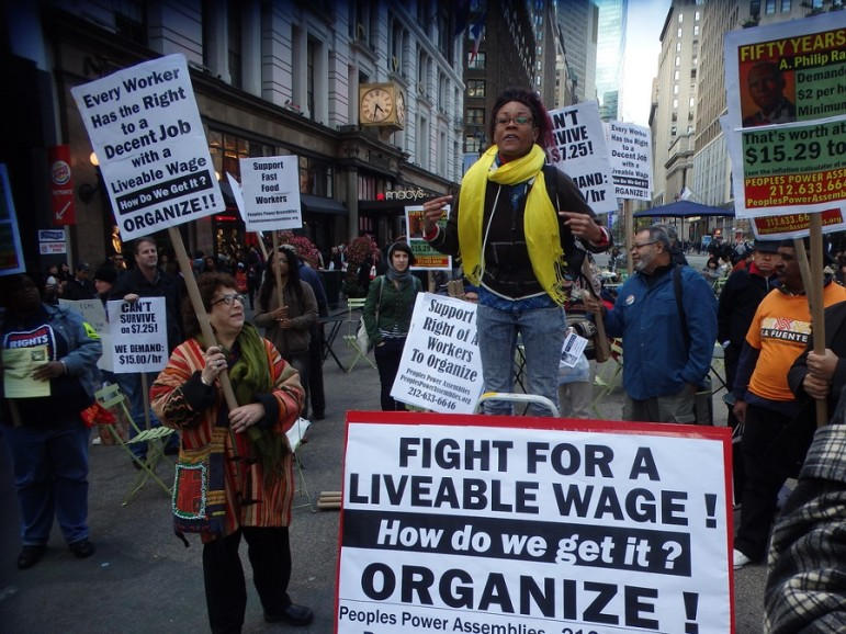 Liveable-wage-protest-NYC
