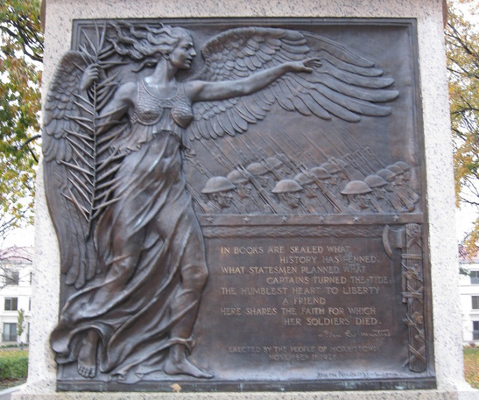 Morristown-statue