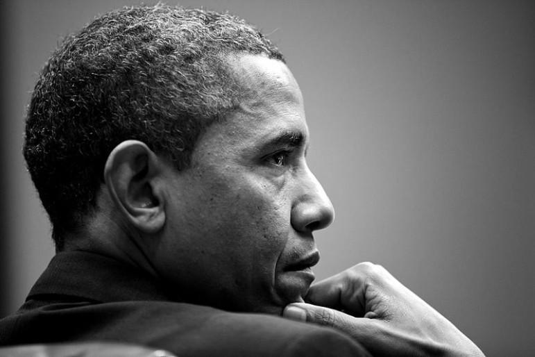 Pensive-Obama