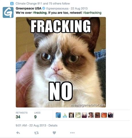 Greenpeace-Tweet