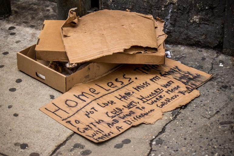 Homeless-sign