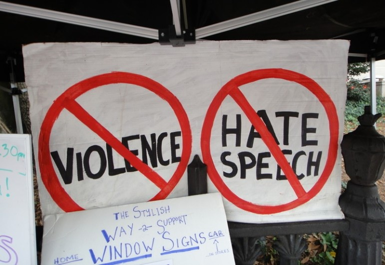 No-hate-speech