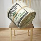 Money-on-chair