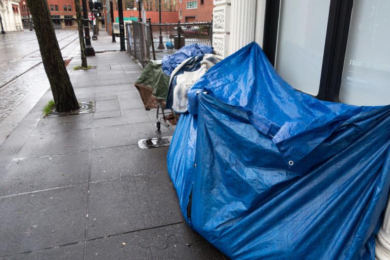 Portland-homeless