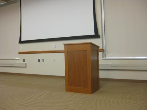 empty-lectern