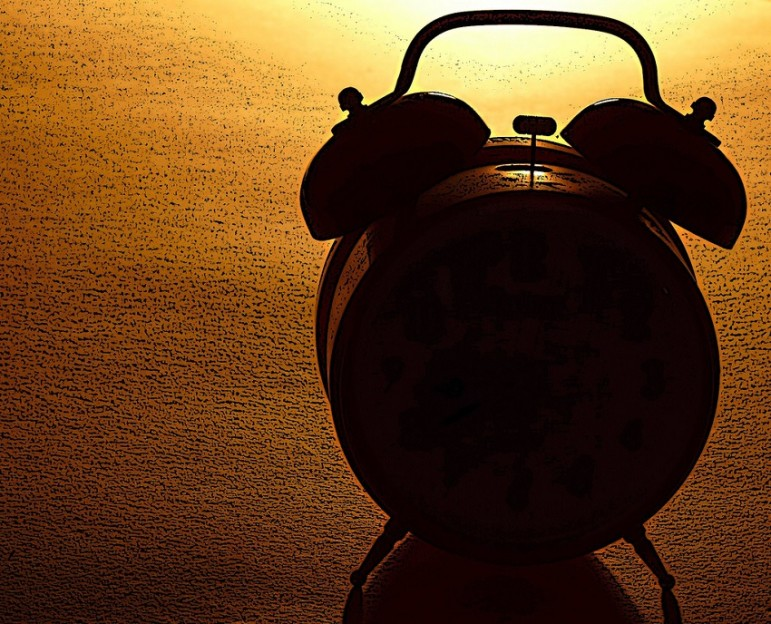 Alarm-clock-shadow