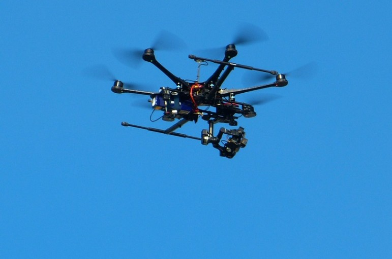 Drone-flying