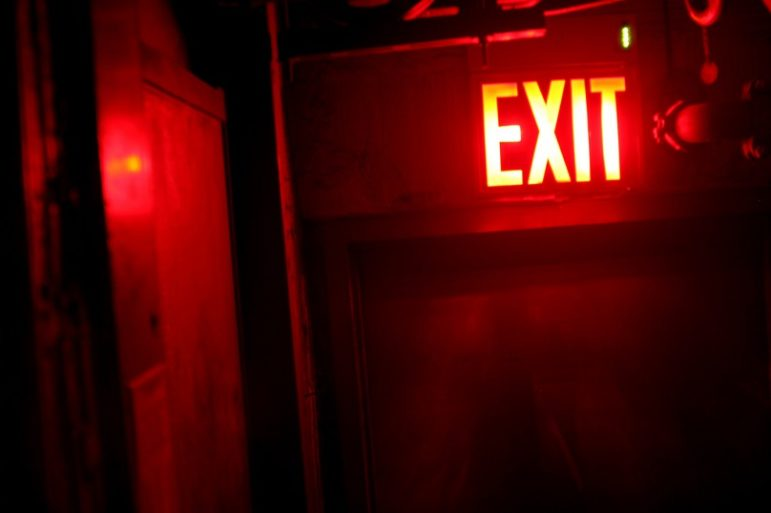 Exit-red