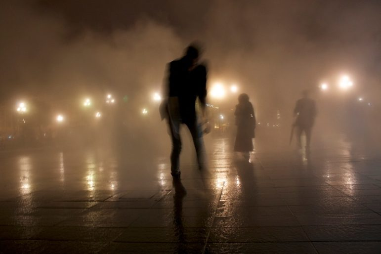 Zombies-in-fog