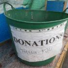 Donation-bucket
