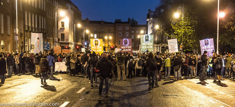 Ireland-abortion-protest