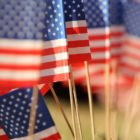 Veterans-Day-flags-Trump