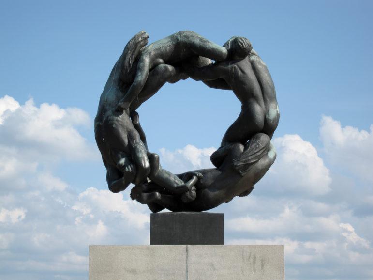 Vigeland sculpture in Oslo, Frogner park