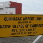 Sign_at_Quinhagak,_Alaska