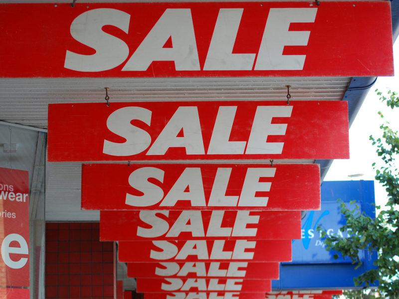 Sale-clickbait