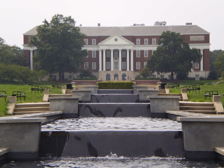UMD_Mckeldin_Fountain