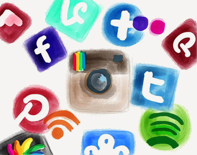 social-media-water-colors