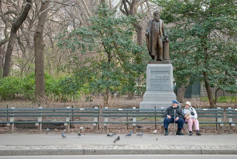 central-park-male-statue