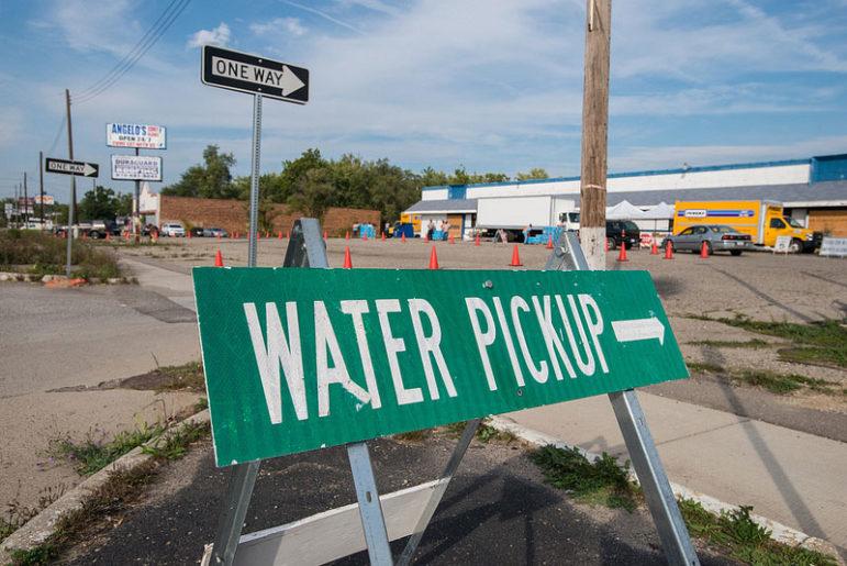 Flint-water-pickup