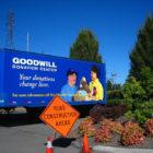 Goodwill-trucks