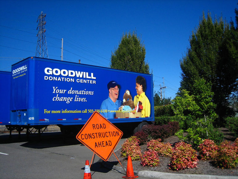 Goodwill-trucks