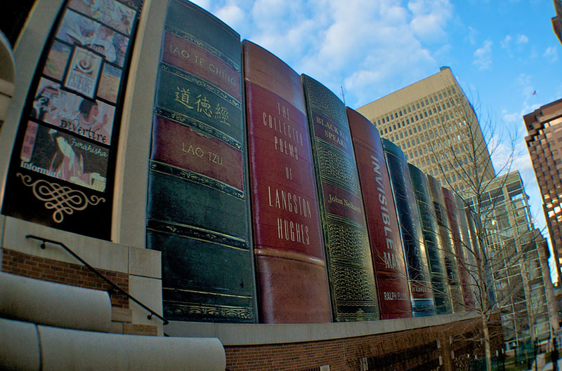 Incident at kansas city library goes off the rails non for Unique architecture around the world