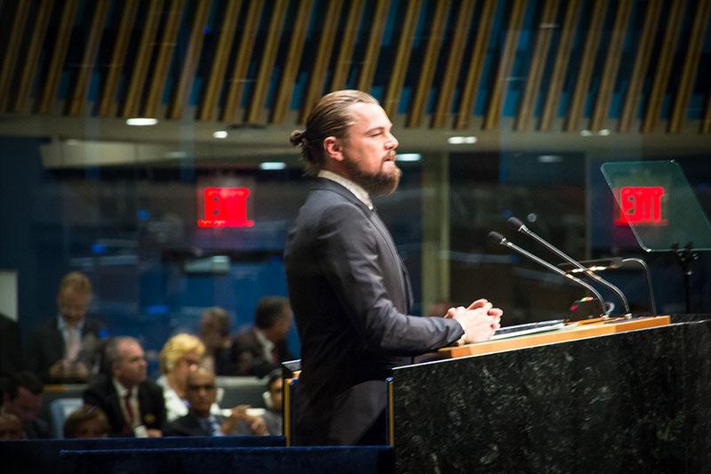 Leonardo Dicaprio Unveils Climate Change Documentary Non