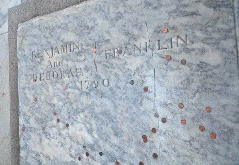 Ben-Franklin-grave