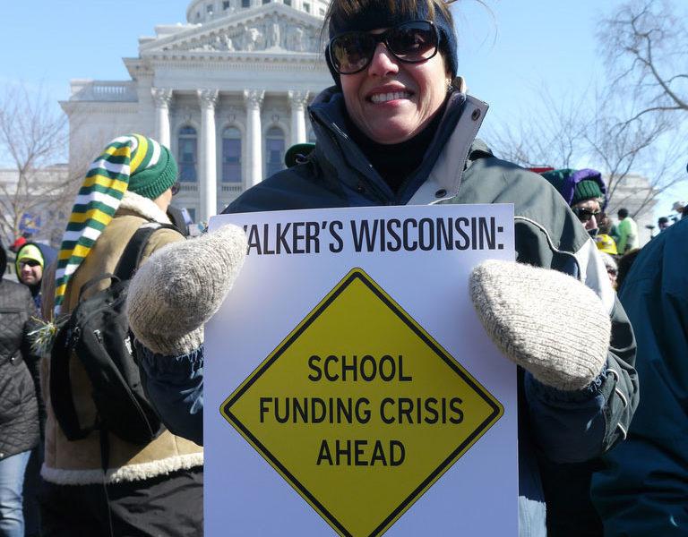 funding-schools-protestor