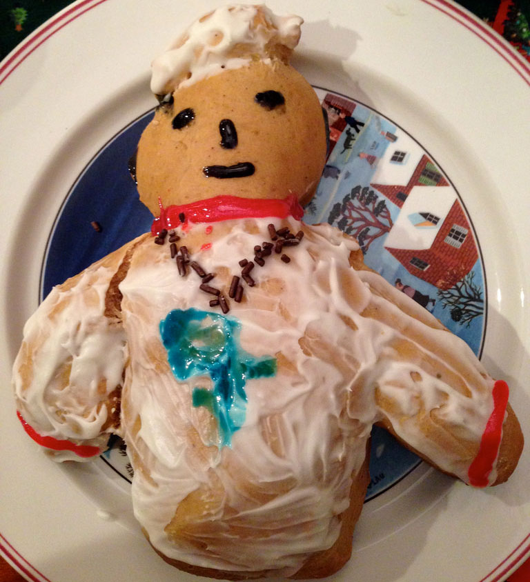 Pope-pastry