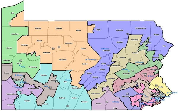 Supreme Court Rejection Means PA Must Redraw Congressional Maps