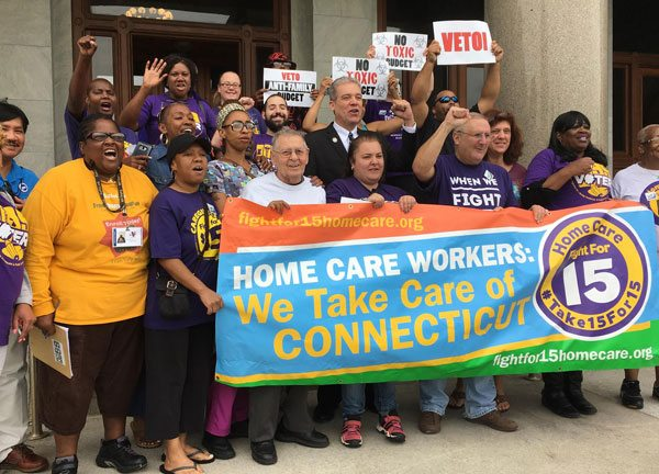 Connecticut Nonprofits Support Strike of Their Caregiver