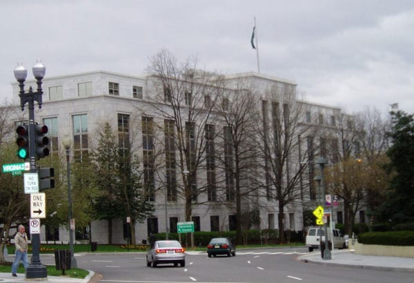 Saudi Embassy in DC May Find Its Address Changed to Jamal