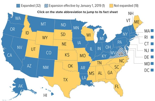 Medicaid Expansion Gains 3 States In Midterms With More To Come