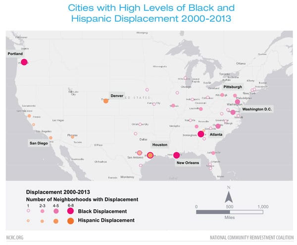 Study Provides a Map of Gentrification and Resident Displacement ...
