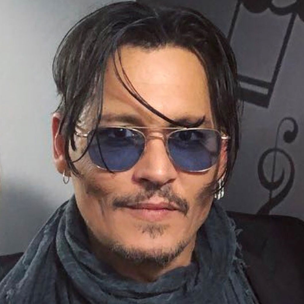 A photo of actor Johnny Depp.