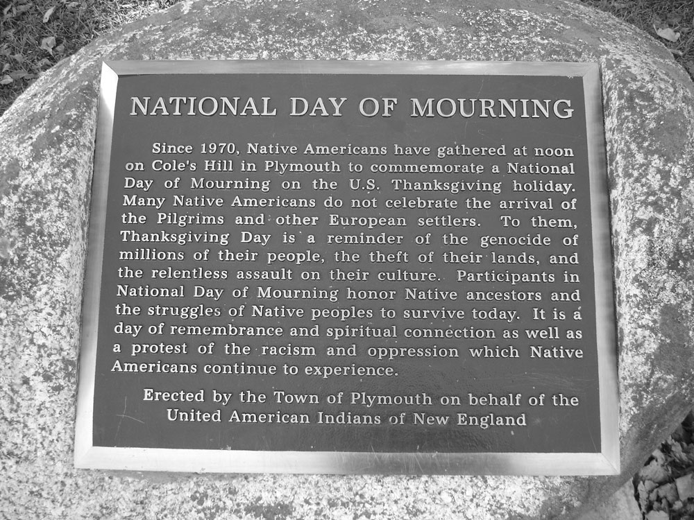 For 50th Year, Wampanoag Commemorate Thanksgiving as Day of Mourning