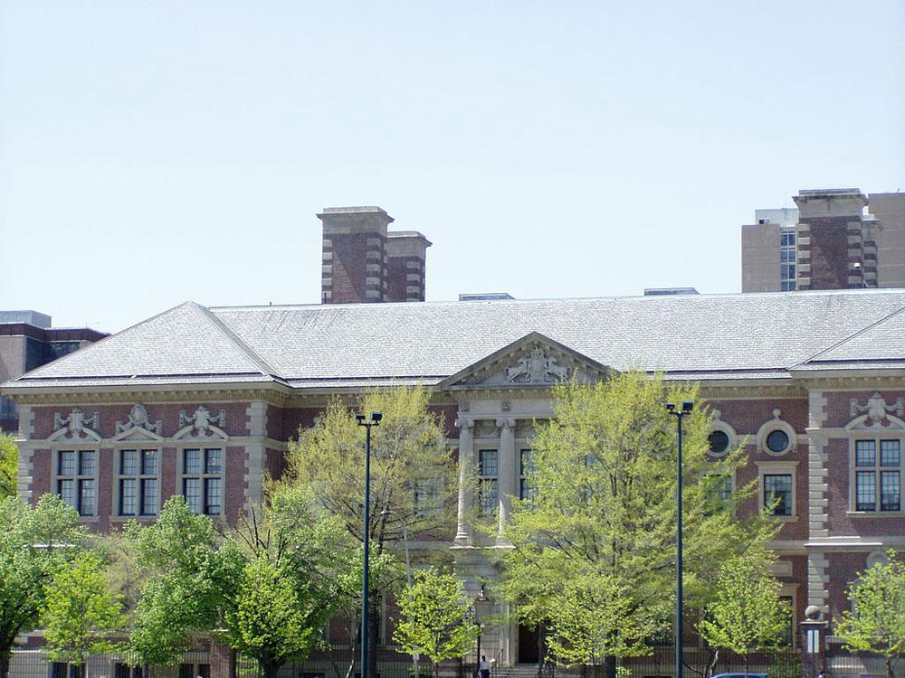 University of Pennsylvania law school building.