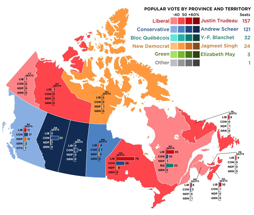 Canada Provinces Map Mercer Corporation In Wake of Federal Election, Canadian Nonprofits Seek New Policy