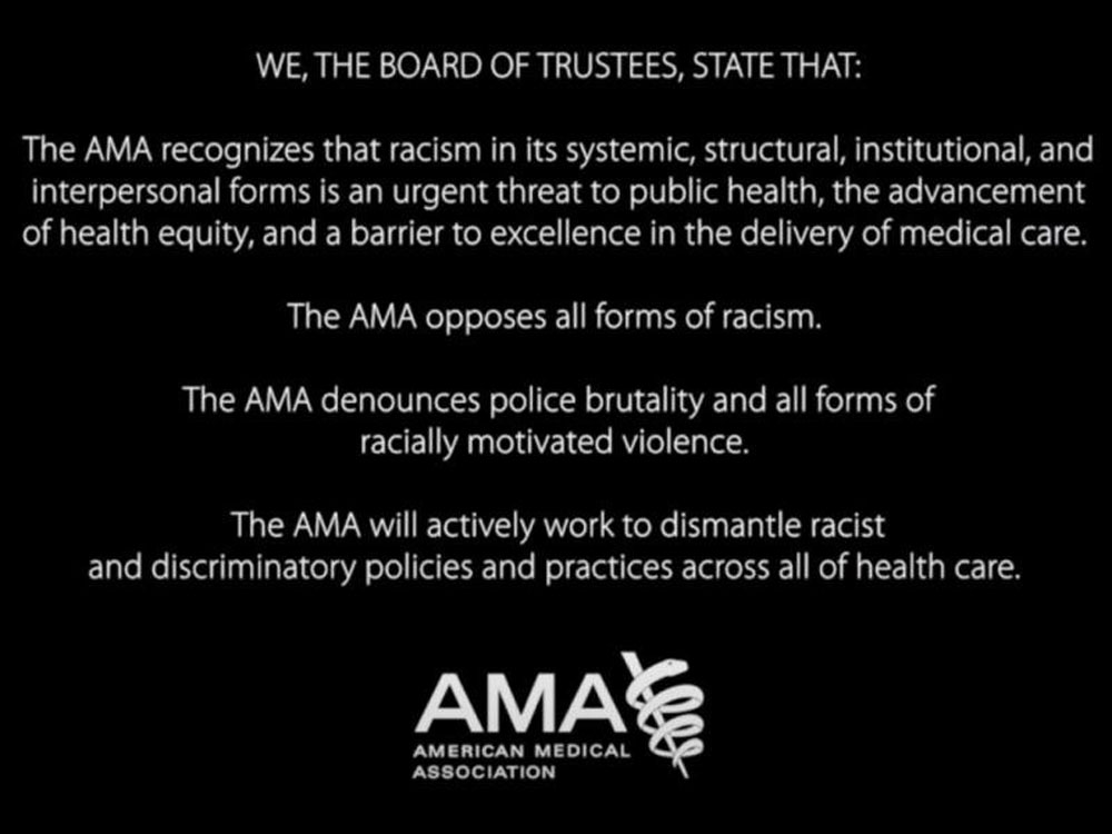 AMA Declares Racism a Public Health Threat and Adopts Anti-Racist Policies  - Non Profit News | Nonprofit Quarterly