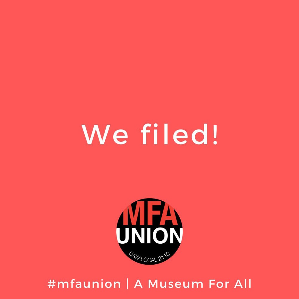 Following National Trend, Boston Art Museum Workers 9–1 Vote in Favor of Union