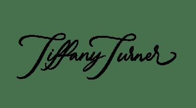 Tiffany Turner's signature in cursive.