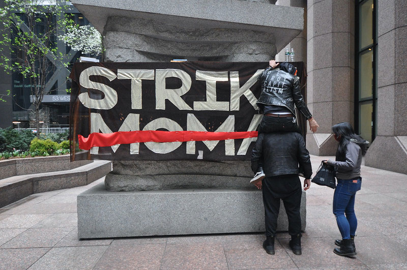 Strike MoMA Imagines Art Museums without Billionaires