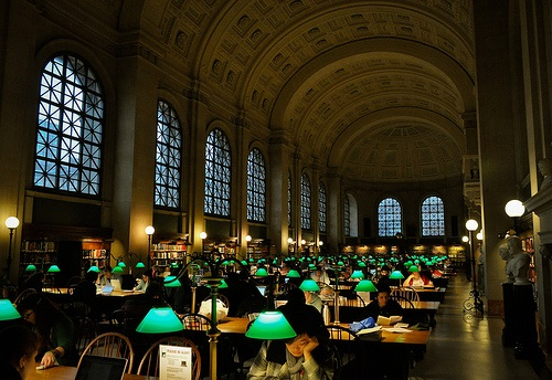 Boston Library robbed