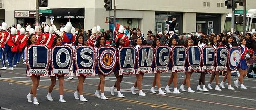 LA school marching band