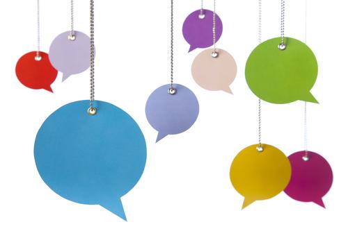 hanging-word-ballons